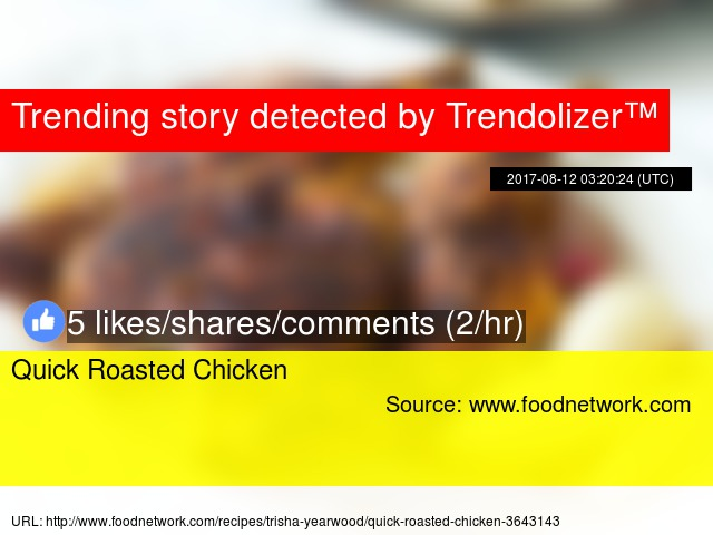 Quick Roasted Chicken
